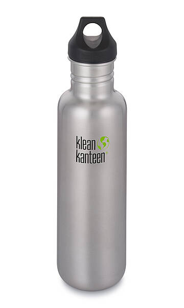 Kanteen Classic Loop-Cap-BS, 800ml Brushed Stainless