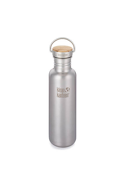 Kanteen Reflect Bamboo-Cap-BS, 800ml Brushed Stainless